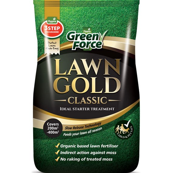 GreenForce Lawn Gold 10kg 80-200m²