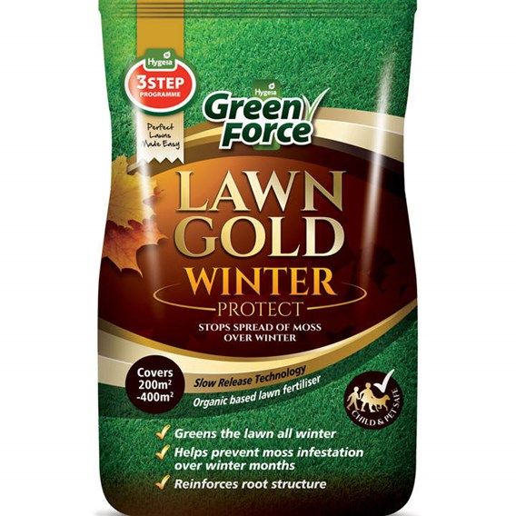 Greenforce Lawn Gold - Winter Protect 15kg 200-400m²