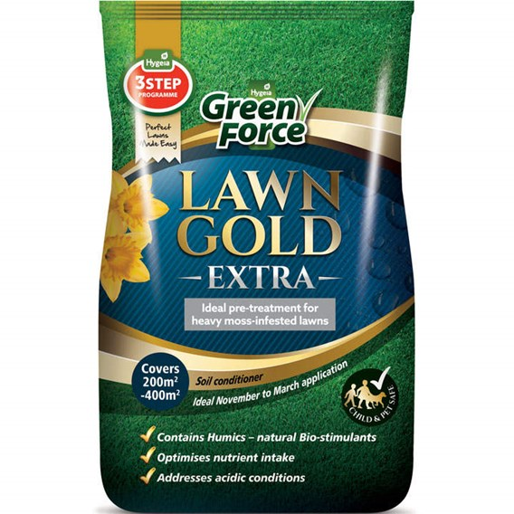 Greenforce Lawn Gold - Extra 20kg 200-400m²