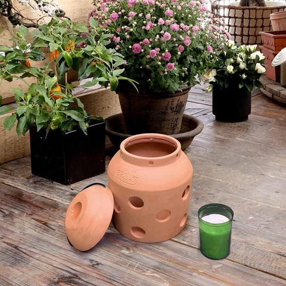 Firefly - Terracotta Heater / Heater Candles