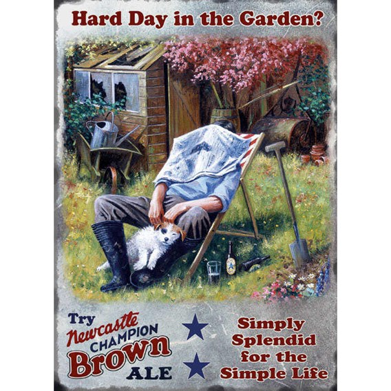 Head Gardener Metal Sign