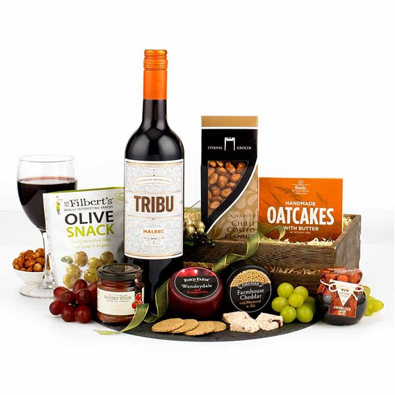 Wine & Cheese Crate