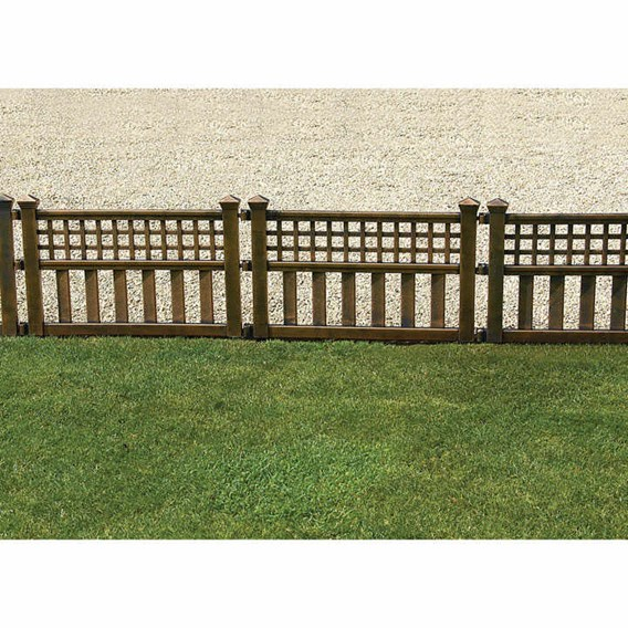 Bronze Fence Panels (4)