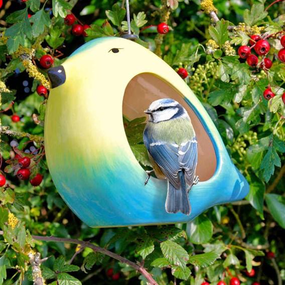 Ceramic Bird Feeders