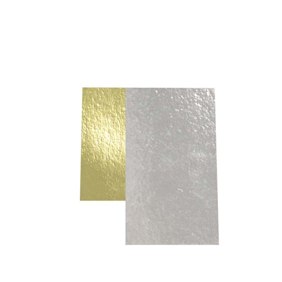 Gold and Silver Tags