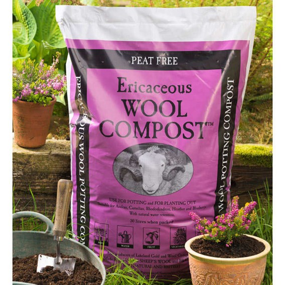 Ericaceous Wool Compost