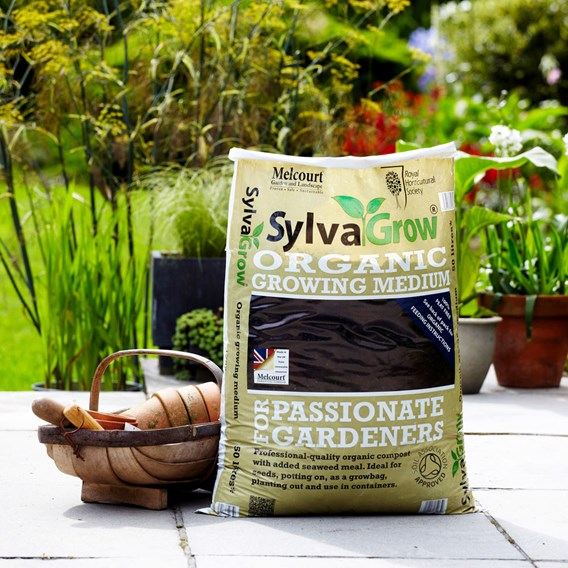 RHS SylvaGrow Organic Growing Medium 50 Litres (Peat Free)