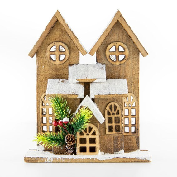 Winter Cottage and Advent