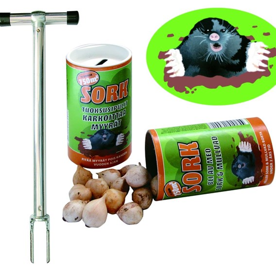 Anti-Mole Bulbs & Planting Tool