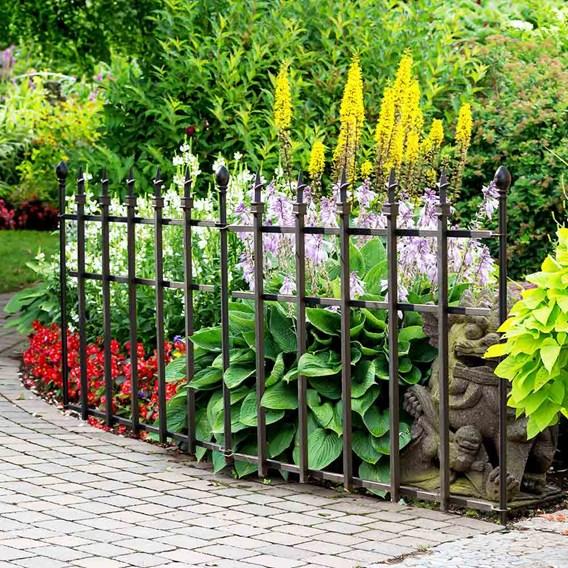 Panacea Classic Finial Fence