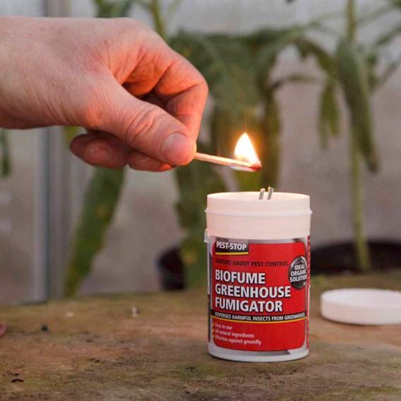 Natural Greenhouse Fumigator