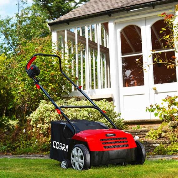 Cobra Electric Scarifier & Aerator 2 in 1