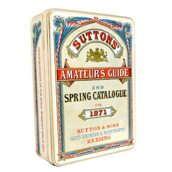 Cream Suttons Heritage Seed Tin