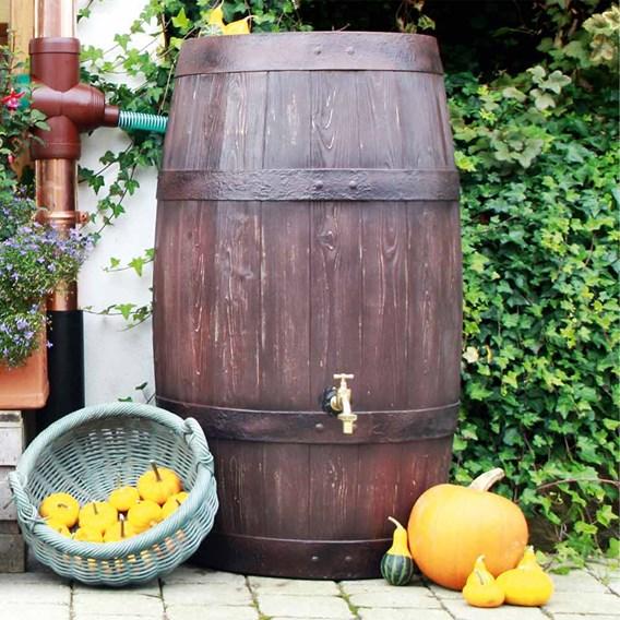 Burgundy High Capacity Water Butt