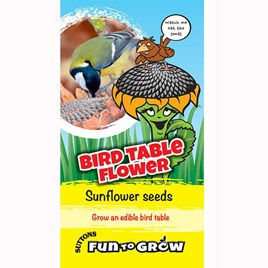 Sunflower - Bird table flower