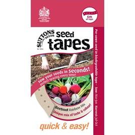 Seed Tape - Beetroot Rainbow Mix