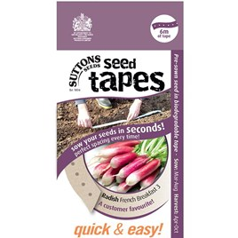 Seed Tape - Radish French Breakfast