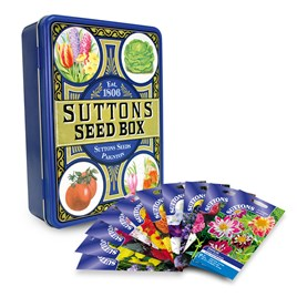 Seed Tin with Flower Seed (10)