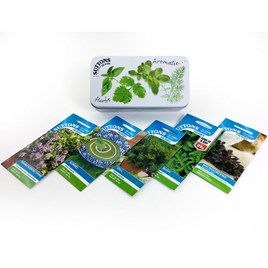 Seed Tin Collection Herb Garden - Single