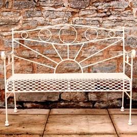 Garden Bench (Cream)