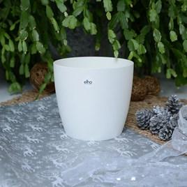 Elho Round White Pot