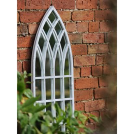 Gothic Tall Outdoor Mirror