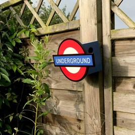 London Underground Bird House