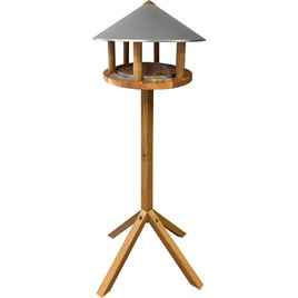 Pointed Roof Bird Table