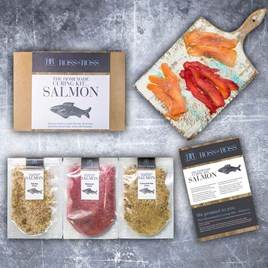 Homemade Salmon Curing Kit
