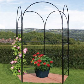 Versatility Screen W-1.2M H-2.45M - Matt Black