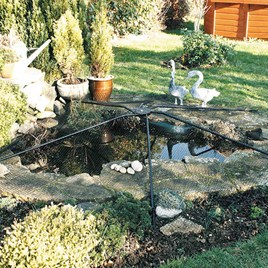 Universal Pond Cover - Matt Black