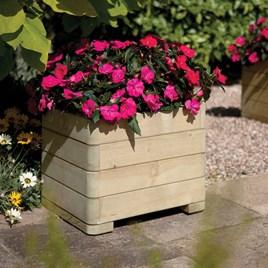 Square Planter - Round Edges