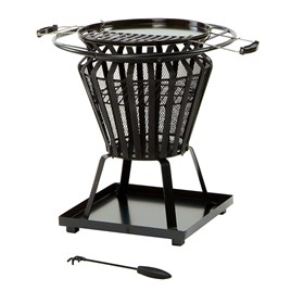 Signa Fire Basket with BBQ Grill
