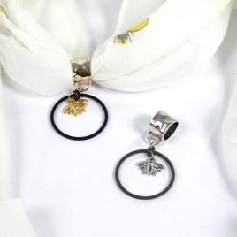Scarf Jewellery Gold