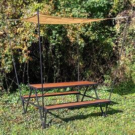 Picnic Table with Canopy