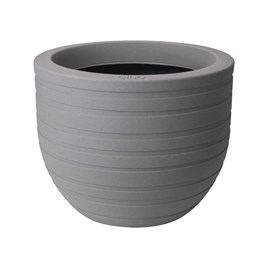 40cm Allure Ribbon Pot - Mineral Clay Colour