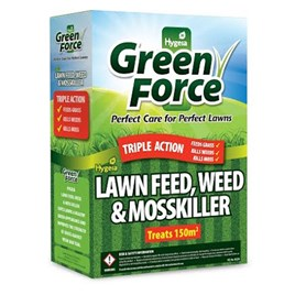 Greenforce Lawn Feed Weed & Mosskiller 3Kg 150msq