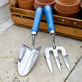 RHS British Meadow  Trowel & Fork Set