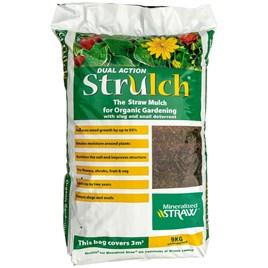 Strulch Mineralised Straw Garden Mulch