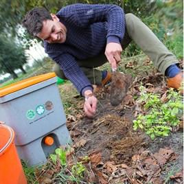 Bokashi Kitchen Waste Composting Kit 2 Buckets Container And 1Kg Bran
