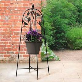 Perching Bird Basket Hanger