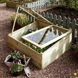 Timber Coldframe