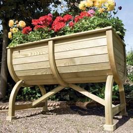 Marberry Barrel Planter