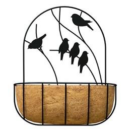 'Perching Bird' - Wall Planter