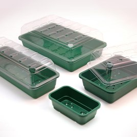 Seed Trays and Propagator Lids - Half Size