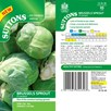 Brussels Sprout Seeds - F1 Content