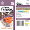 Seed Tape - Carrot Early Nantes 5