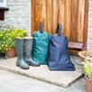 Personalised Wellington Boot Bag - Green