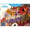 Suttons' Vintage Flower Collection 1000 Piece Jigsaw