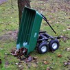 4 Wheel Tipping Action Garden Cart